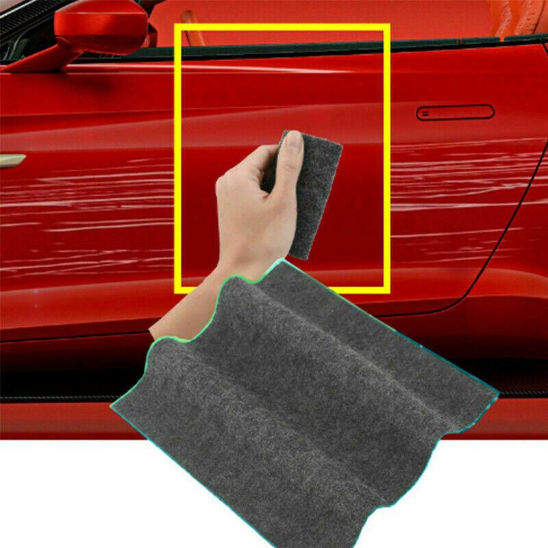 HOT Car Scratch Eraser Magic Car Scratch Repair Remover Nano Cloth Surface Rag. 4