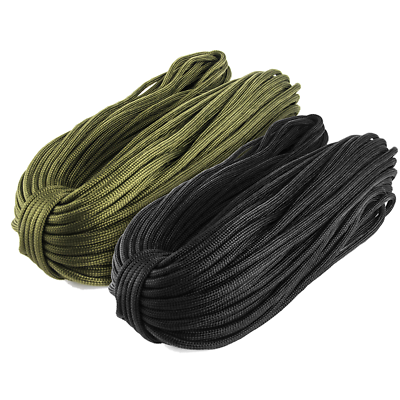 31/50/100M 550 Paracord Parachute Cord Lanyard Mil Spec Type III 7 Strand Core 2