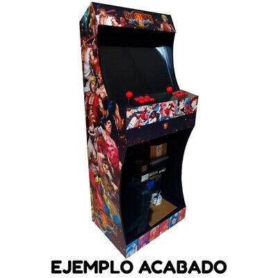 """Kit Mueble Bartop Light Arcade Recreativa Con Pedestal Max 25"""" De Pantalla 10"""