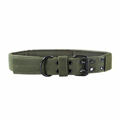 OneTigris Tactical Military k9 Dog Training Collar with Metal Buckle for M L Dog 4