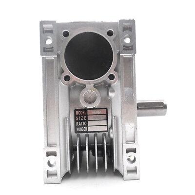 Worm Gear Reducer NMRV040 NEMA34 Input 14mm Ratio 15 25 40 50 80:1 Stepper Motor 5