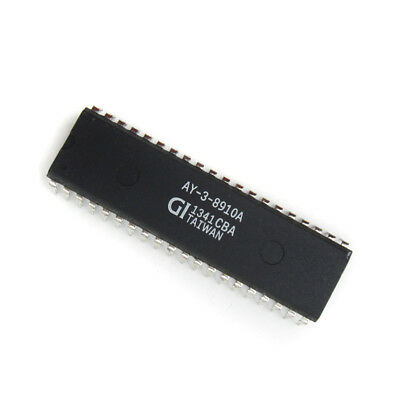 1PCS AY-3-8910A Programmable Sound Generator IC DIP40 NEUE GUTE QUALITÄT 5