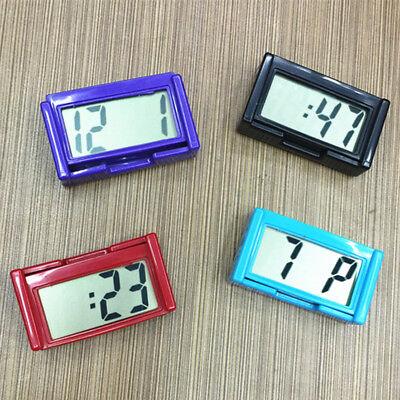 Mini Lcd Uhrkalender Anzeige Digital F Auto Armaturenbrett Selbstklebend Neu