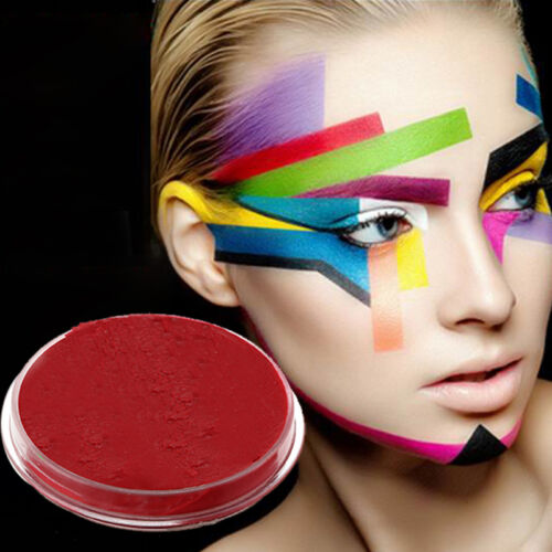 Face Paints 3 Colors Cream Makeup Masquerade Party Halloween Fancy Carnival New 3