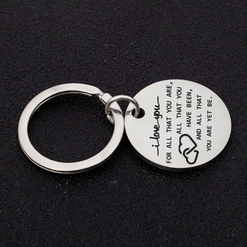 I Love You For Who You Are But That Dick Sure Is A Bonus Keyring Keychain QK 6