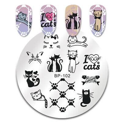 BORN PRETTY Nail Art Stamping Stamper Raschietto Piastra Plate Immagine 10