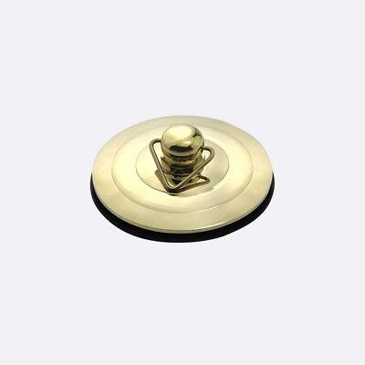 Silver/Gold/Antique Bath Plug with Chain 40-60mm Bathtub Basin Sink Drain Parts 2