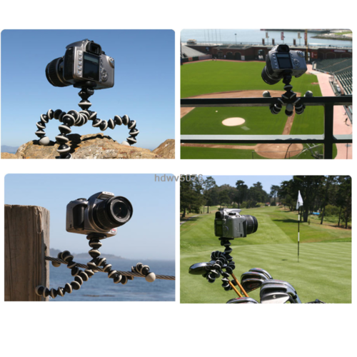 Octopus Flexible Tripod Stand Gorillapod For Canon Nikon Camera Digital DV New