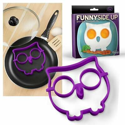 FRED FUNNY SIDE UP Egg - Corral Owl  egg cooking kitchen aid 10
