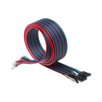 4pcs 100cm 4pin Stepper Motor Cables XH2.54 Terminal Wire For 3D Printer d 4