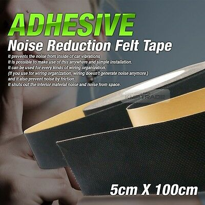 Car Interior Sound Proofing Noise Reduction Tape 1.5x1.5ft For All Car