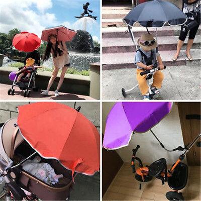 Kids Baby Pram Buggy Stroller Pushchair Parasol Sunshade Umbrella Anti-UV UK