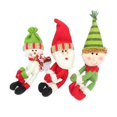 1PC Santa Claus Snowman  Wine Bottle Cover Set Christmas Decorations Home Supply 2