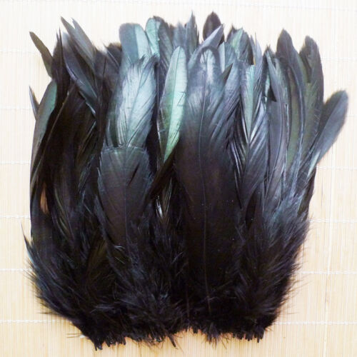 Wholesale 50/100pcs Beautiful Rooster Tail Feather 6-8inch/15-20cm Hot 6