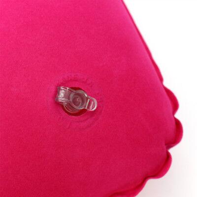 Portable Inflatable Flight Pillow Neck U Rest Air Cushion Eye Mask  Earplug 6