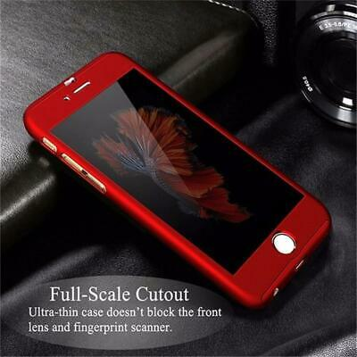 For iPhone 6 7 8 5s Plus XR XS Max Case Shockproof360 Bumper Hybrid Phone Cover 3