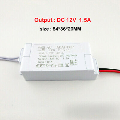 AC 110V 220V 240V to DC 12V LED Constant Voltage Adapter Drive Power Converter 2