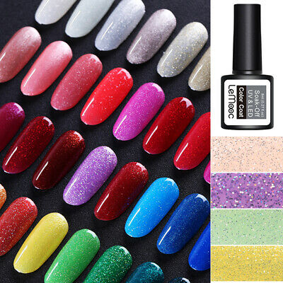 8ml LEMOOC Nagel Gellack Nail Gel UV Nagellack Soak off Nail Art UV Gel Polish 7
