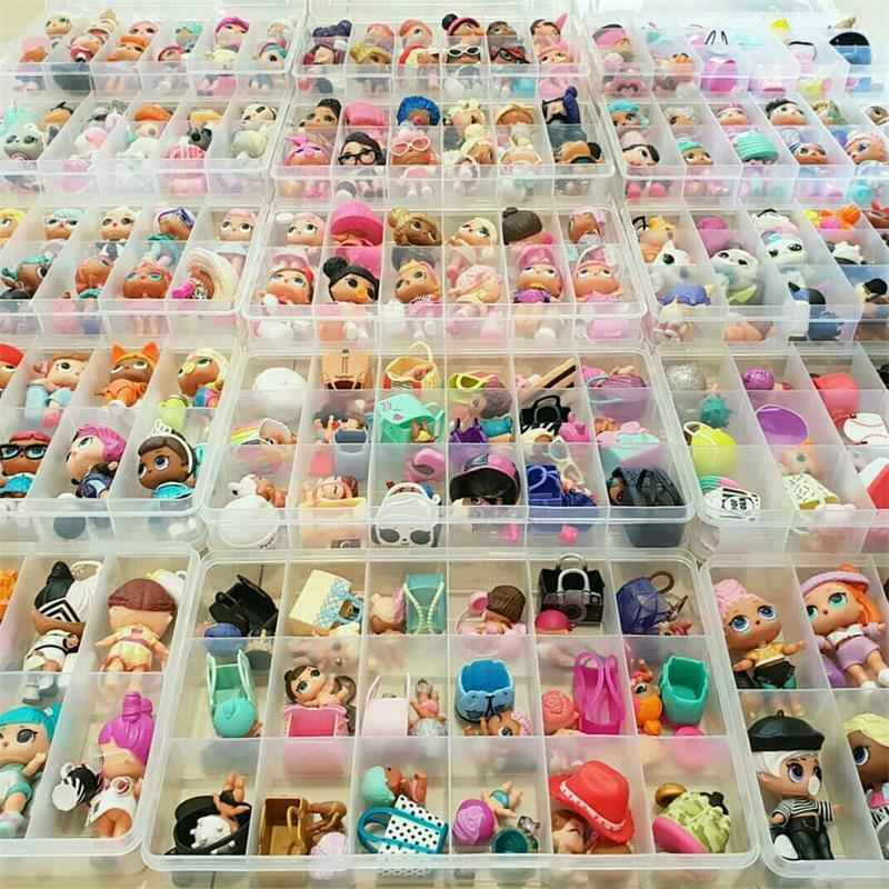 1000 styles LOL Surprise Dolls Glam Glitter Queen Bee UNICORN LIL Sister Pet toy 8