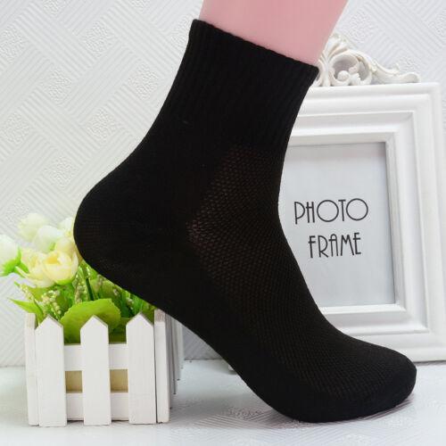 Mens Womens Cotton Rich Sport Socks Work Ankle Official Sockss 8