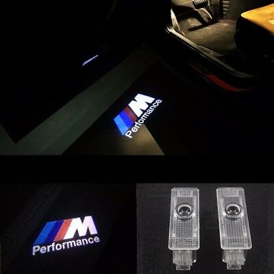 For BMW CREE LED Projector Car Door Light Shadow Puddle Courtesy Laser LOGO Lamp 6