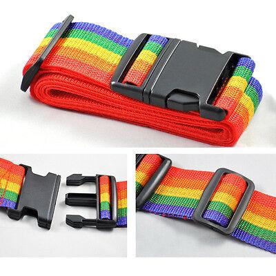 Rainbow Belt Travelling Backpack Bag Luggage Suitcase Straps Adjustable Baggage 3