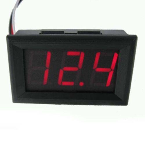 Mini DC 4.5-30V Digital Voltmeter LED Display Electric Motor Voltage Wire Meter 6 6 of 8 ...