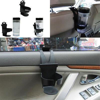 Black Universal Vehicle Car Truck Door Mount Drink Bottle Cup Holder Stand
