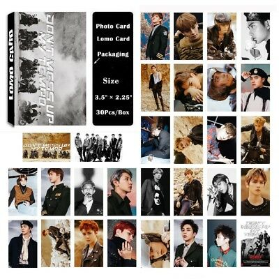 Lot of set cute KPOP EXO Album Personal Collective Photocard Poster Lomo Cards 8