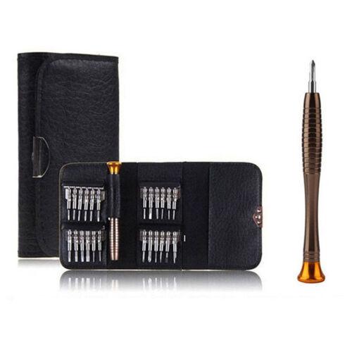 1 Set25 en 1 tournevis de précision Kit pochette outil pour MacBook Air Phon bg 2
