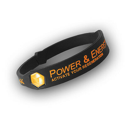 Power & Energy Sport Fitness Armband Activate Your Regeneration Silikon Energie