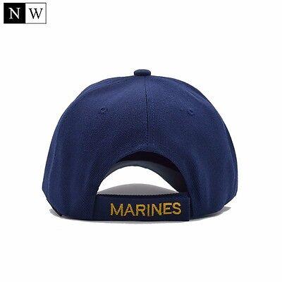 d3009475584ce CASQUETTE US ARMY Marines Réglable bleu - EUR 13,00   PicClick FR