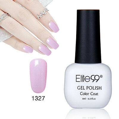 Elite99 Esmalte Semipermanente Brillante de Uñas en Gel UV LED Manicura Soak off 9