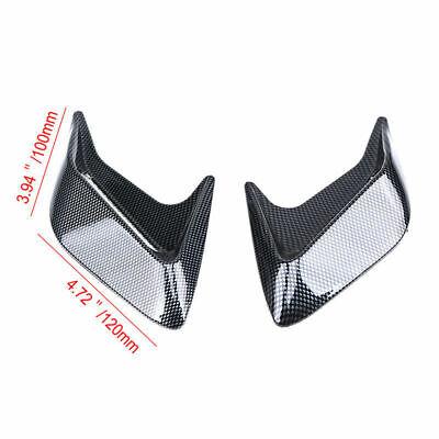 2X Universal Car Decorative Air Flow Intake Hood Scoop Vent Bonnet Cover RH LH