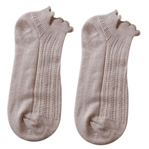 Spring Fashion Women Solid Color Thin Section Curling Summer Socks Loose Socks N 7