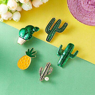 Fashion Rhinestone Crystal Flower Plant Bridal Bouquet Enamel Brooch Pin Jewelry 7