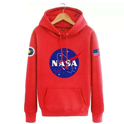 Hommes Sweat à capuche Nasa Space Pull-over Amoureux Manteau Pull Sweat-shirt 6