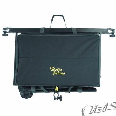 DELTA FISHING Luxus Feeder Box Futtertisch Beistelltisch Tackle Box für Kiepe 5
