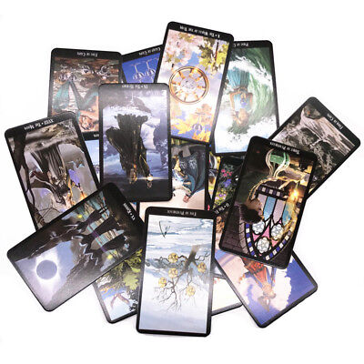 78 Cards Witch Tarot Deck Future Fate Indicator Forecasting Cards Gift TableGame
