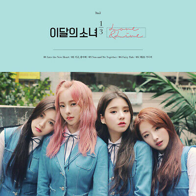 MONTHLY GIRL LOONA 1/3 LOVE&LIVE 1st Mini Album CD+Photo Book+Card K-POP SEALED 3