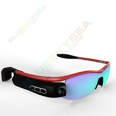 720P 8.0MP FHD Smart Video Camera Glasses Eyewear DVR Camcorder For Android IOS