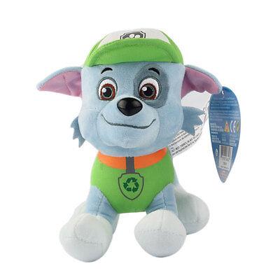 """Plush Pup Pals 8"""" Paw Patrol Skye/zuma Rocky Soft Toys Nickelodeon Dog Set Gift 6"""