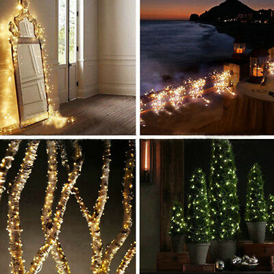 4 Of 12 20 30 40 Led String Copper Wire Fairy Lights Battery Operated Waterproof Lamp