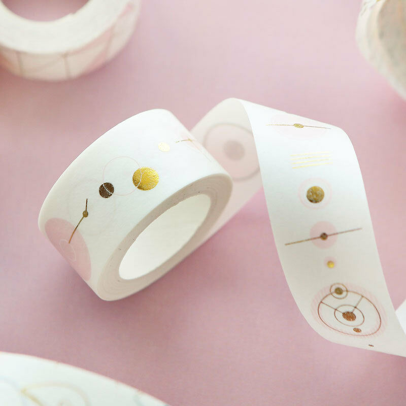 Luxury Foil Paper Washi Kawaii Stationery Scrapbooking Decorative Tapes 3