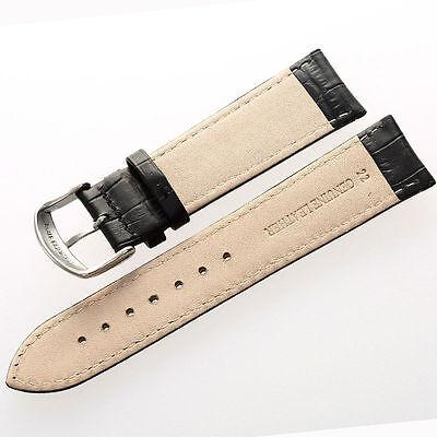 Uhrband Uhrenarmband Uhrenband Armband Kalbs Leder Kroko Narbung Krokodilprägung 6