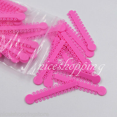 10 Packs Ligature Tie 44 Colors For Chose 10080 Pcs Dental Orthodontics Elastic 4