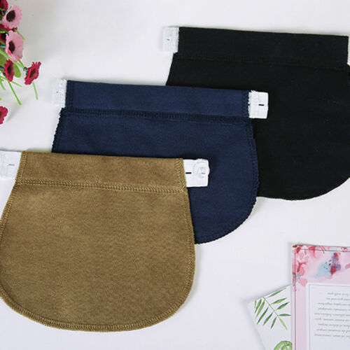 2PCS Maternity Pregnancy Waistband Belt Adjustable Jean Waist Pants Extender AU 5