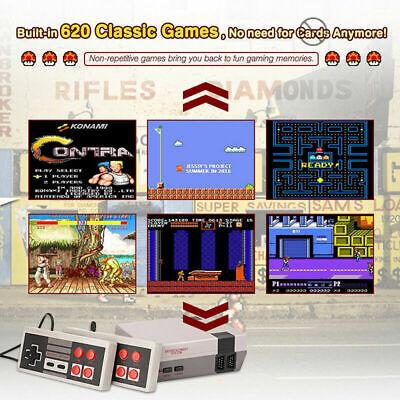 620 In 1 Mini Console Giochi Classic Retro Per Nes 2 Controller Tipo Nintendo 9