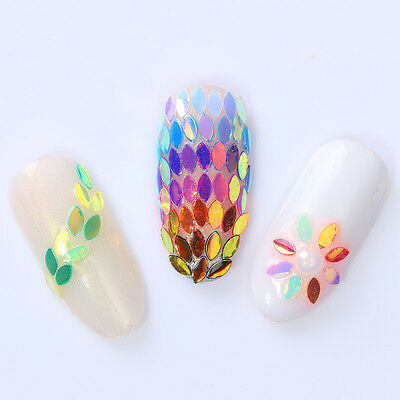 3d Nail Art Rhinestones Studs Acrylic Tips Stickers Decoration In