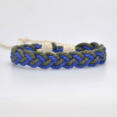 Fashion Girl's Hemp Rope Weave Bracelet Simple Accessories Jewelry Gift 12